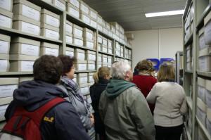 Im Historischen Archiv werden Papierbestände und Realien aufbewahrt. Foto: BR/Jan Höltje. Alle Rechte vorbehalten.