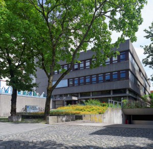 das Gebäude des IfZ in der Leonrodstraße in München.