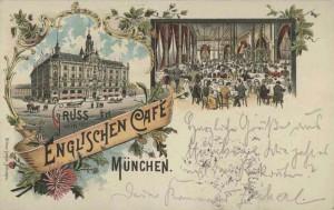 Gruß vom Englischen Café in der Ottostraße 16