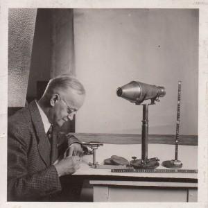 Karl Pritschow (1874-1956), Ingenieur und Optiker, Fotografie aus dem Jahr 1939. Foto Deutsches Museum. Alle Rechte vorbehalten.