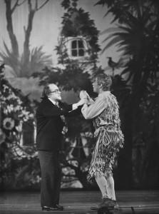 """Probe zu Peter von Winters """"Das Labyrinth - Der Zauberflöte zweiter Teil"""", Cuvilliestheater 1978."""