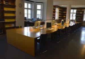 Lesesaal des Stadtarchivs München