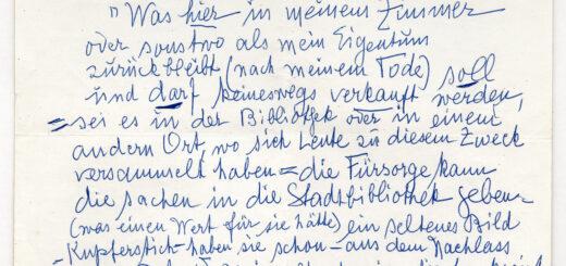 Testament Mary Delvard (StAM, AG München 1965/7134