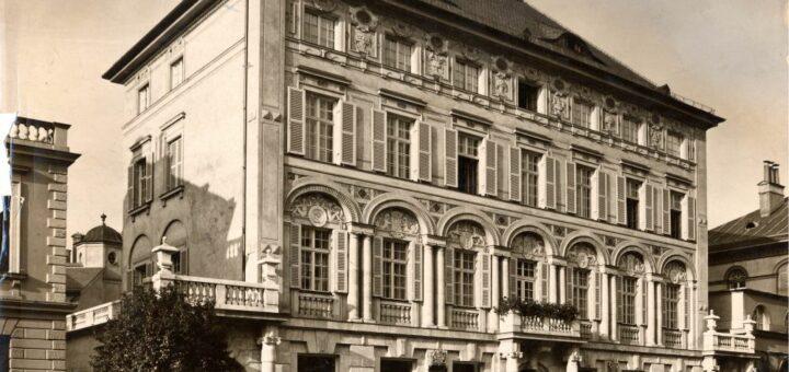 Die Münchner Kunsthandlung Julius Böhler in der Brienner Straße, um 1912 (Fotografie; BWA F43, 974). Blogparade #Deutungskämpfe