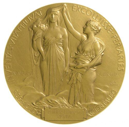 Nobelmedaille, 1905 (DMA, CD 66330). Blogparade #Deutungskämpfe
