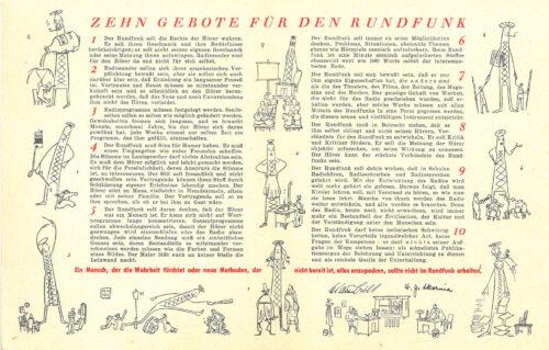 """Inhalt der """"Zehn Gebote"""", BR, Historisches Archiv, Blogparade Deutungskämpfe"""