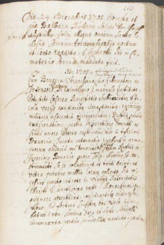 Sterbebuch der Pfarrei Lenggries (AEM M4040); Foto: Archiv und Bibliothek des Erzbistums München und Freising. Blogparade #Deutungskämpfe