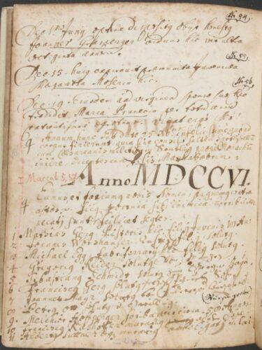 Sterbebuch der Pfarrei Reichersbeuern (AEM M5964); Foto: Archiv und Bibliothek des Erz-bistums München und Freising. Blogparade #Deutungskämpfe